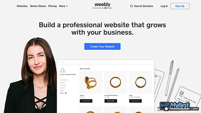 Review Weebly: apa itu Weebly.